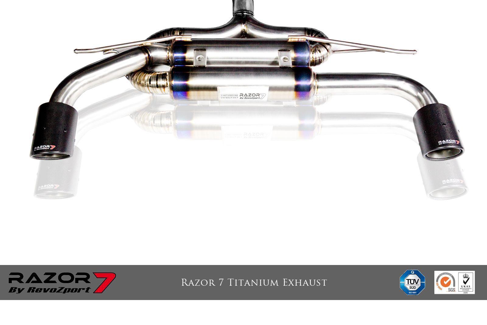 Razor 7 Titanium Exhaust