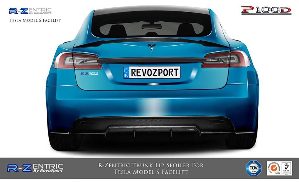 R-Zentric Rear Diffuser For Tesla Model S Facelift