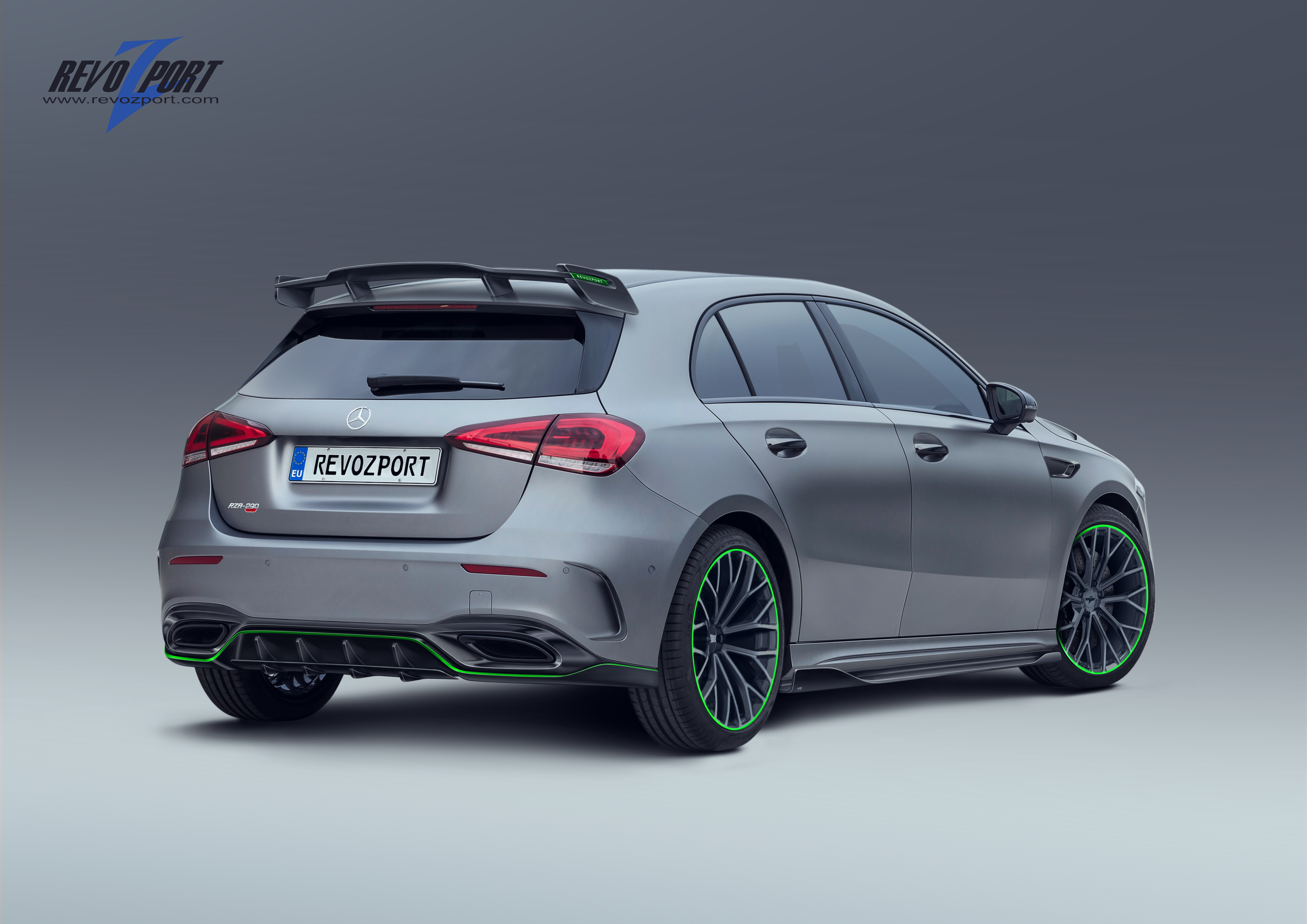 RZA-290 GT Roof Spoiler for W177 AMG A Class – RevoZport