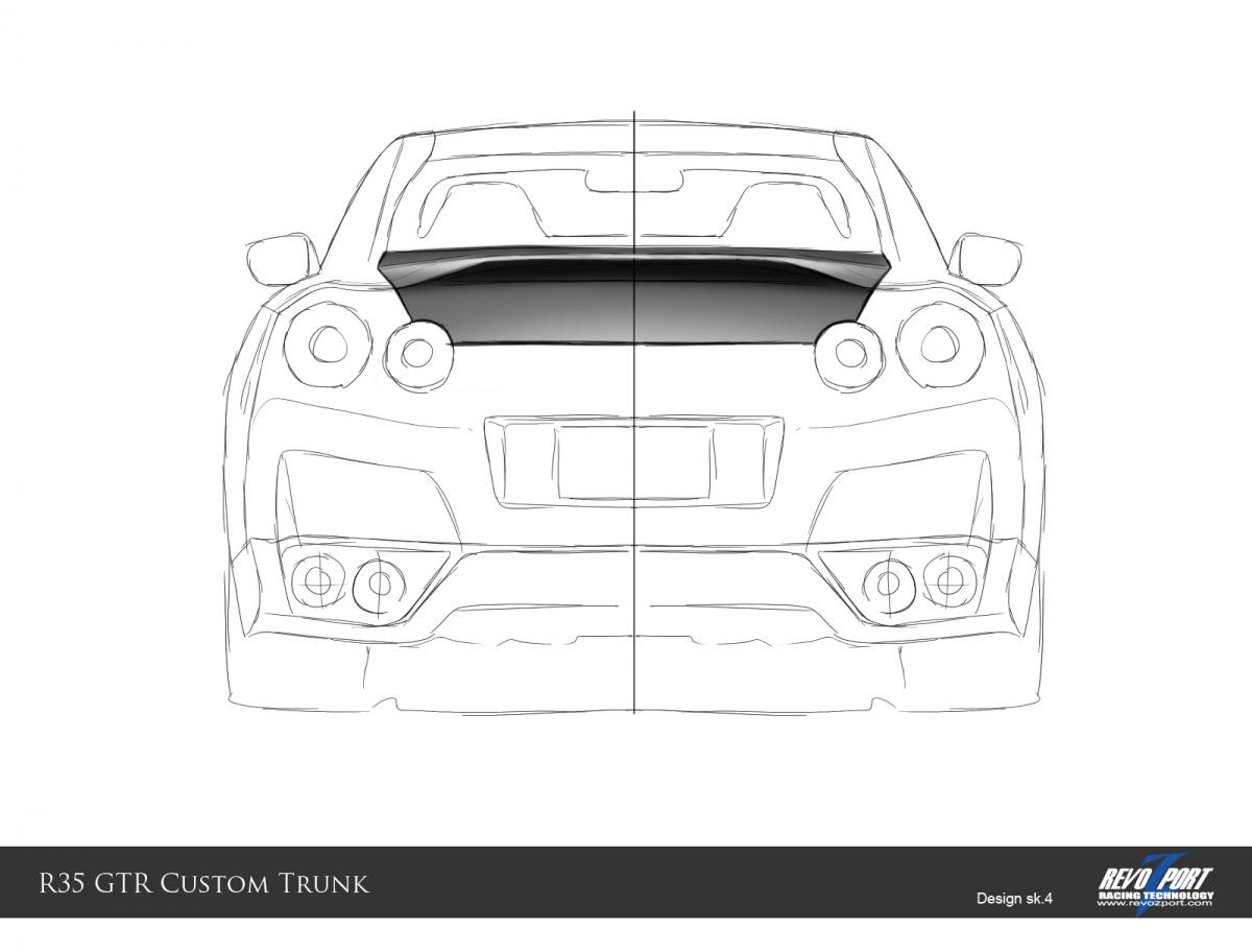 35 Latest Nissan Gtr Drawing Back Invisible Blogger